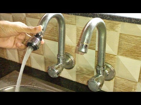 kitchen sink tap faucet extension swivel adapter