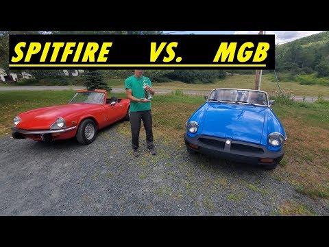 Classic British Car Battle: MGB Vs. Triumph Spitfire