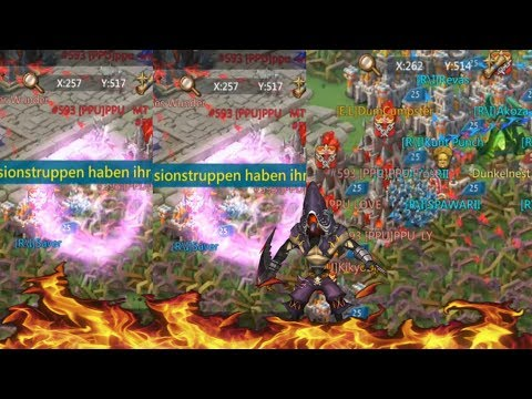 Zeroing The Overlord Guild During KvK! | Lords Mobile