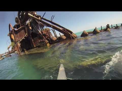 Moreton underwater
