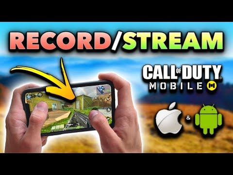 How To RECORD & STREAM Call Of Duty Mobile On IOS/Android! (FREE, No Computer)