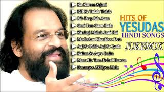 HITS OF YESUDAS HINDI SONGS JUKEBOX | Old Bollywood Hits | Golden Hindi Hits of K.J.Yesudas
