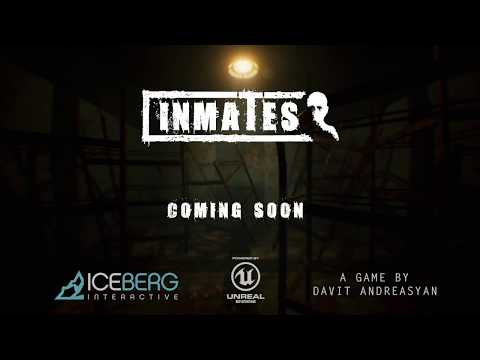 ICEBERG INTERACTIVE ANNOUNCES PSYCHOLOGICAL HORROR GAME 'INMATES'