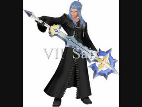 The real names and identities of the members of Organization XIII