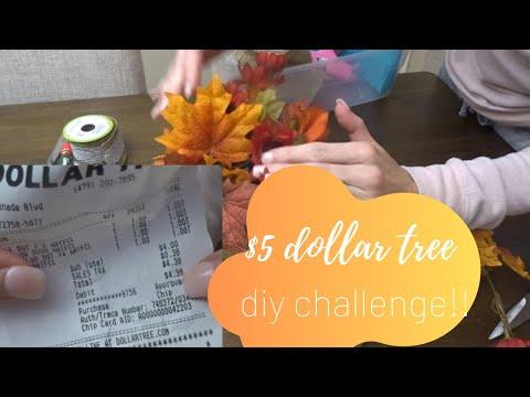 $5 DOLLAR TREE DIY CHALLENGE