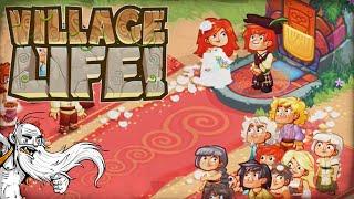 """WHAT A BEAUTIFUL WEDDING!!!""  Village Life 1080p HD Gameplay Walkthrough"