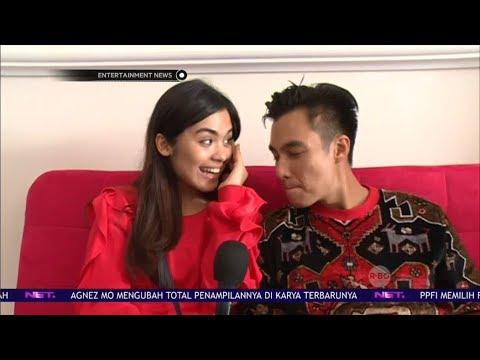 Vebby Palwinta Dampingi Baim Wong Di Opening Bisnisnya