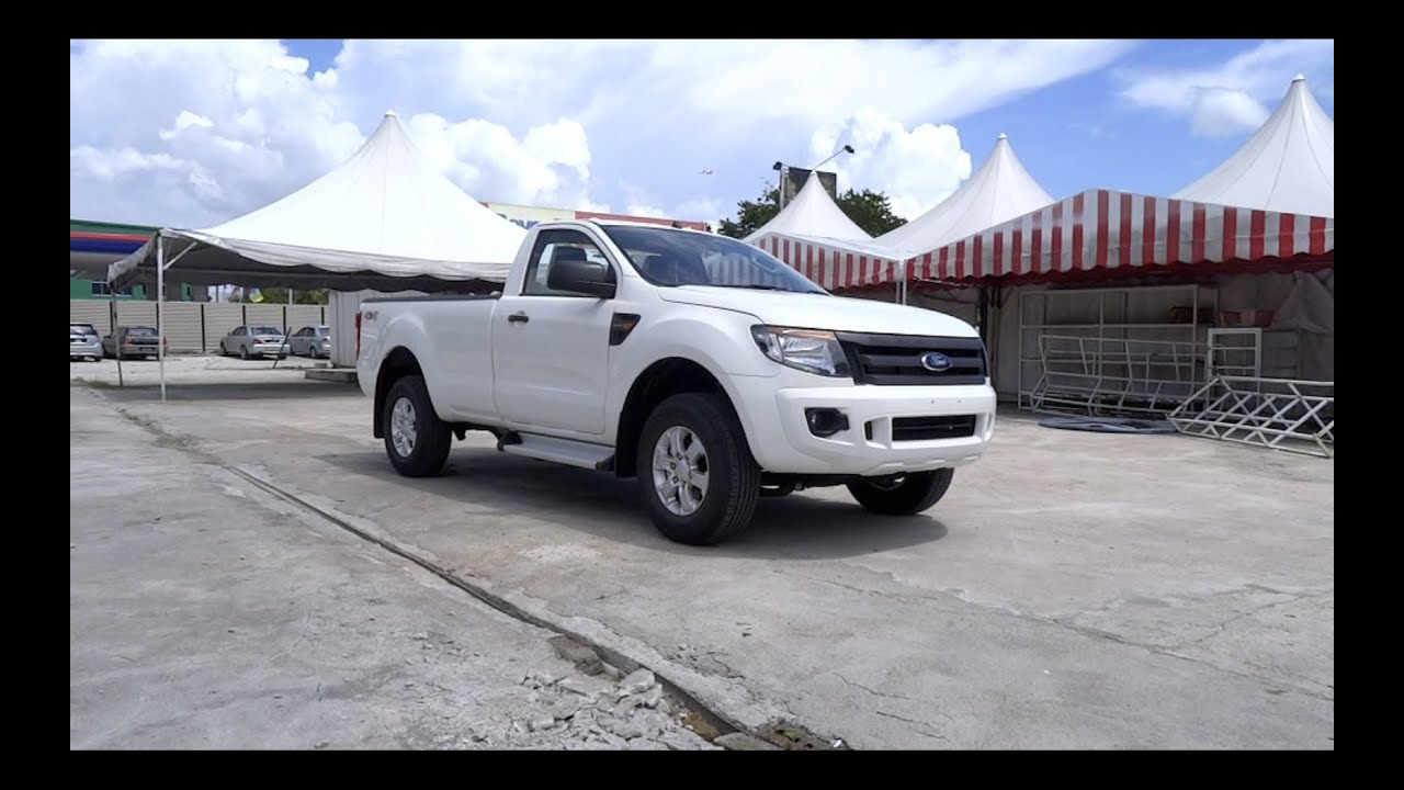 2013 Ford Ranger 22 4X4 XL High Rider Single Cab StartUp and