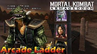 Mortal Kombat Armageddon - Arcade Ladder(Reptile)