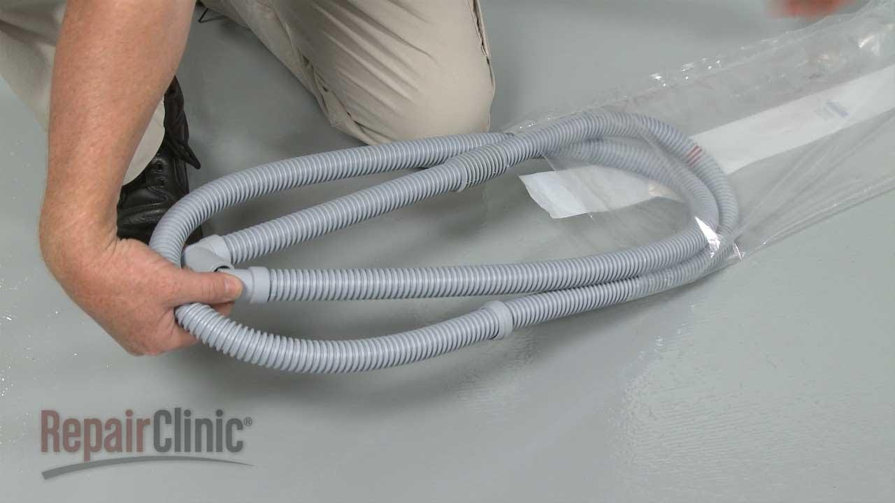 Washing Machine Leaking >> Asko Washer Drain Hose Replacement #8061998 - YouTube