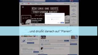 [How To] Wie funktioniert Planpost auf Facebook?