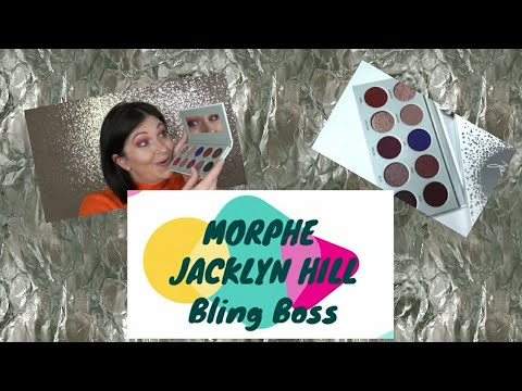 Jaclyn Hill Bling Boss Palette by Morphe, Swatches thumbnail
