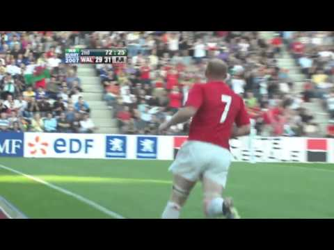 Rugby World Cup 2007 Classic Match - Fiji Upsets Wales by 4 Points