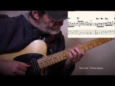 "Tim Lerch - Improvising Solo Guitar: ""Prince"""
