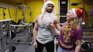 Забойная Фитнес Мотивация на Новый Год! Отжигаем!