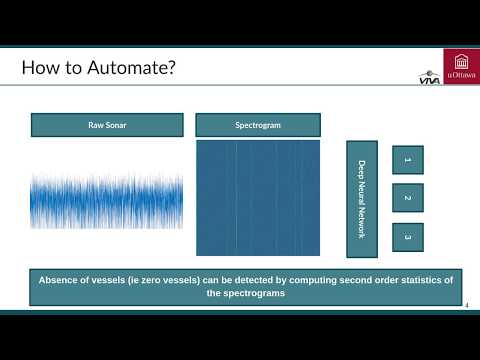 A Deep Neural Network for Counting the Number of Vessels using Sonar Signals