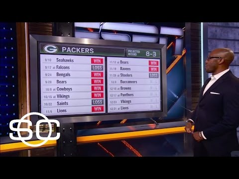 Riddick Bullish On Packers Schedule | SportsCenter