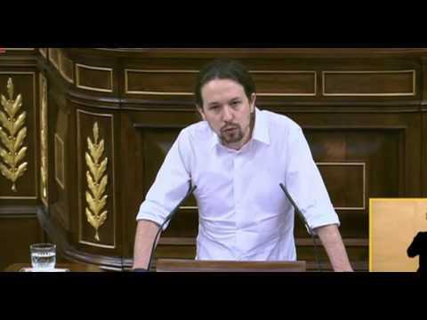 Pablo Iglesias recuerda a Salvador Puig Antic en su primer discurso en el congreso