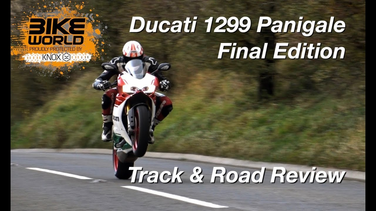Ducati 1299 Panigale R Final Edition Track & Road Review