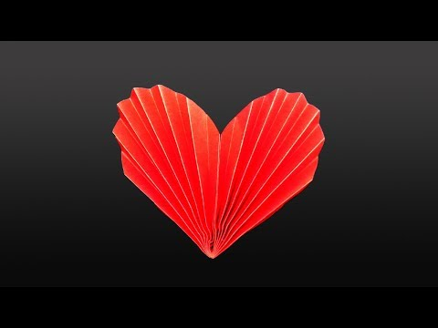 EASY DIY: PAPER HEART ❤   Valentine 3D DIY - Yakomoga EASY DIY