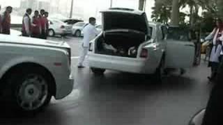 3 Rolls Royces at the Burj al Arab