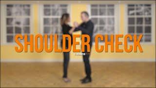 Salsa Beginners 2 - Salsa Shouldercheck - Detailed  explanation for the absolute beginner