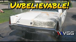Abandoned Cadillac First Wash In 20 Years! - Vice Grip Garage EP75