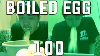 【大食い】ゆで卵100個の限界に挑戦! thumbnail