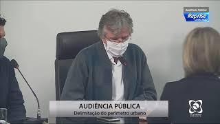 Audiência Pública 12/05/2020 - Delimitação de perímetro urbano