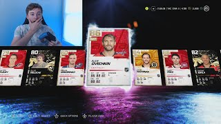 NHL 21 HUT - CRAZY FIRST PACK OPENING!