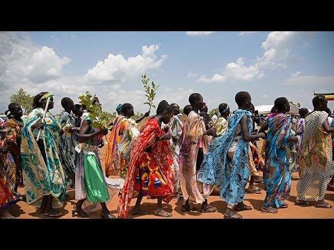 South Sudanese refugees in Uganda reach one million mark