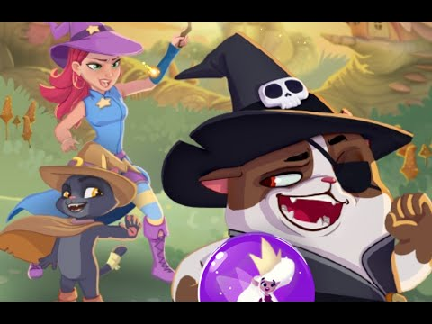 BUBBLE WITCH SAGA 3 Android / iOS Gameplay Trailer