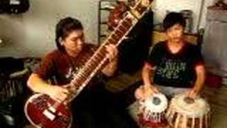 Tabla Player Tan Guo Jun & Sitar Player Tan Guo Ming (1)