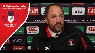 """...The young lads stepped up and showed their worth...""  Gloucester's Humphreys after Zebre 
