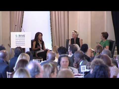 Mona Sutphen speaks at the 2014 STRIVE Women's Empowerment Luncheon