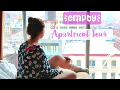 EMPTY APARTMENT TOUR 2017  NASHVILLE, TN