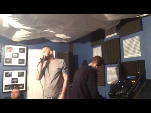 DJ Andy Effect & MC's Genno D & Rockeye - Monta Musica Studio's - November 2016