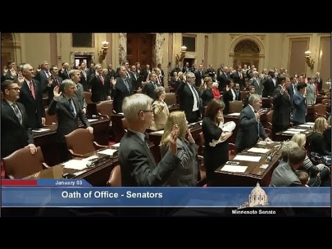 The Minnesota Senate Opens the 2017 Session