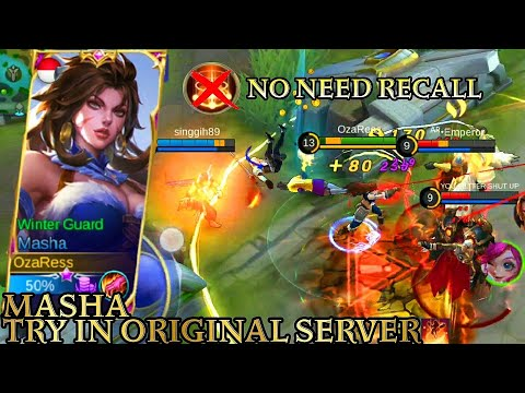 Masha Try In Original Server - Mobile Legends Bang Bang