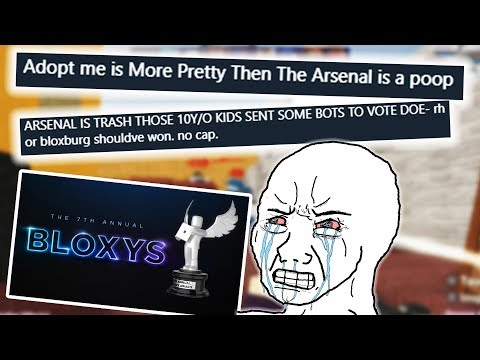 Fans Are Angry That Arsenal WON The BLOXY Awards