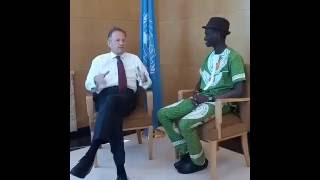 My Stroll with Michael Moller, Director General, United Nations Office Geneva