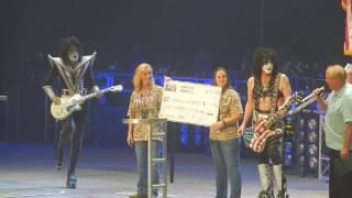 Kiss - Beth/Rock & Roll All Nite {DCU Center Worcester Mass 9/3/16}