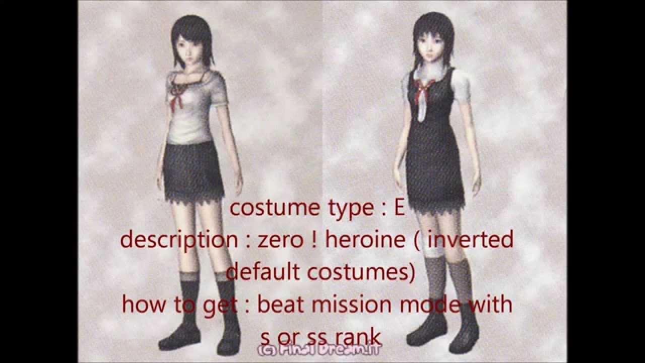 Fatal Frame 2 Costumes - Frame Design & Reviews ✓
