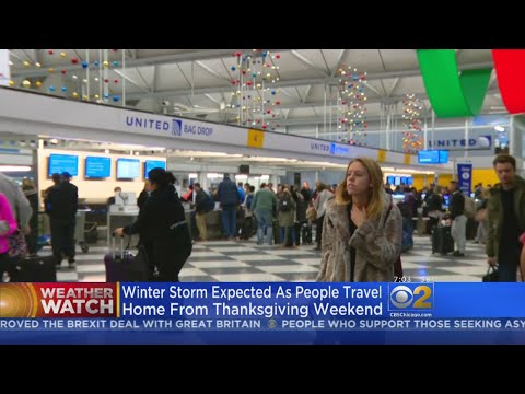 O'Hare Flight Delays and Cancellations Amid Winter Storm