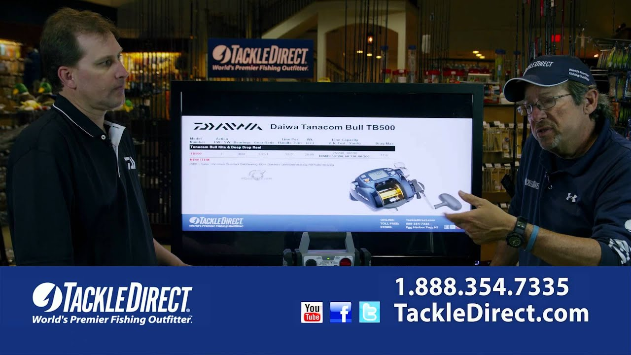 a57df2b7d50 Daiwa Dendoh Power Assist Reels at TackleDirect - YouTube
