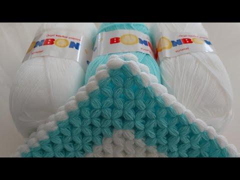 Kutu tekniği kolay lif modelleri ~ Kare lif easy crochet knitting pattern yapımı ~Lif örgü modelleri indir