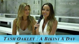 BEACH BABE NATASHA OAKLEY REVEALS BIKINI SECRETS | AMBER RENAE
