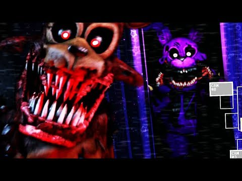 DONT OPEN THE CURTAINS OR TWISTED BONNIE WILL ATTACK! | Ultimate Custom Night Mod