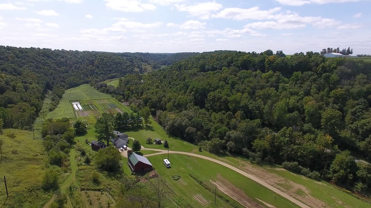 4BR 3BA home on 36 5 Acres for sale WI - organic veggie farm - video 2 of 3