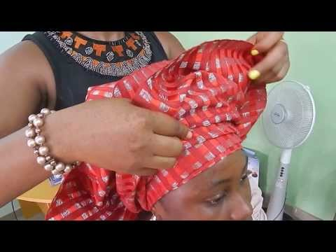 How To Tie Bridal Head Gear with [ASO OKE] 2014